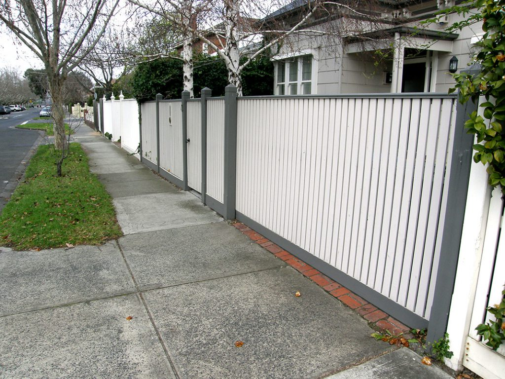 Picket Fence Builder For Noble Park House Fence Builder