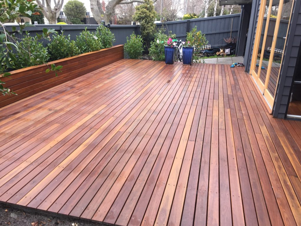 Garden decking builder for malvern quality outdoor timber for External timber decking