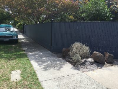 Residential fence builder. Quality timber fences built in Elsternwick