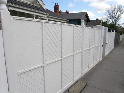 Quality fencing. Residential fence builder for Ormond, Melbourne