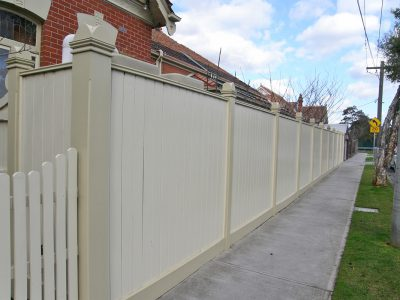 Quality fencing. Residential fence builder for South Eastern Suburbs, Melbourne