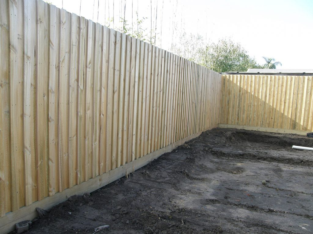Noise Reduction Acoustic Thick Paling Fence Keep The